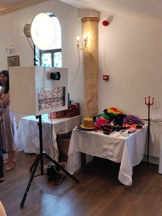 Cabina foto pentru eveniment